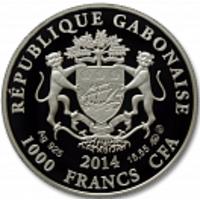 Аверс монеты «Водолей-14»