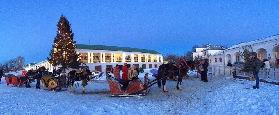 Суздаль. Зимняя сказка рядом с Нижним Новгородом
